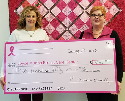1st Summit Bank Supports JMBCC