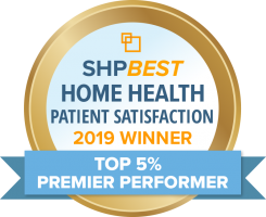 Home Health Patient Satisfaction Badge